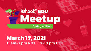 Register for the Kahoot! EDU Meetup: Spring edition on March 17